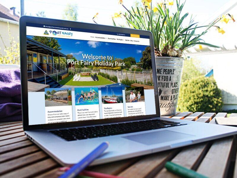 Port Fairy Holiday Park – Website Design