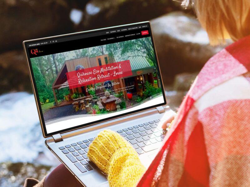 Qii House Lorne – Accommodation Website Design
